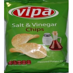 Vipa Salted Potato Salt Vinegar chips 140g