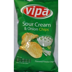 Vipa Chips Sour Cream Onion 140g
