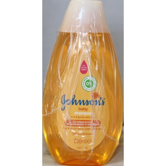 Johnsons Gul baby bath 200ml